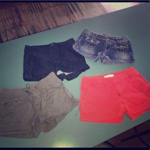 Women's size 2 Shorts bundle